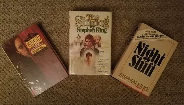 Stephen King First Editions Collection
