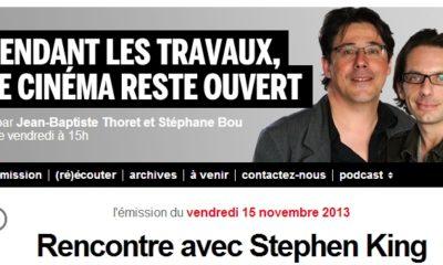Pendant Les Travaux Le Cinema Reste Ouvert Stephenking