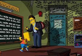 Stephenking Simpsons Figurine