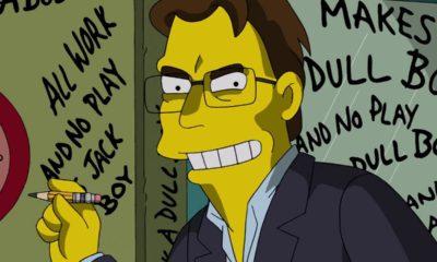 Figurine Stephenking Simpsons