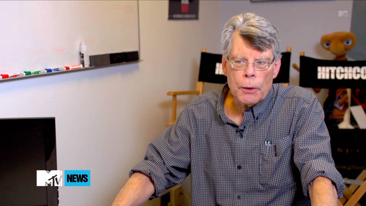 Photo Stephenking Mtv Interview