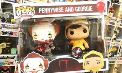 Pennywise Stephenking Figurine Funko Pennywise Georgie