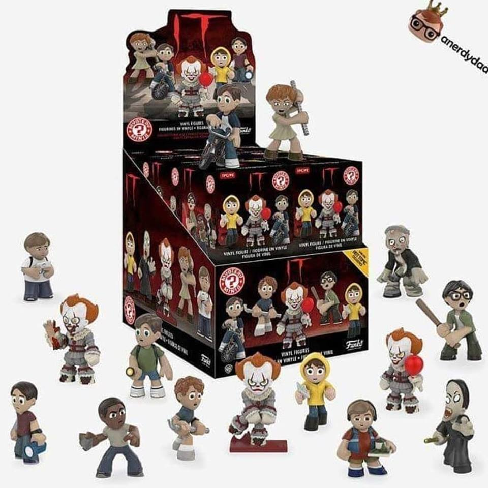 Hottopic It Mini Figurines
