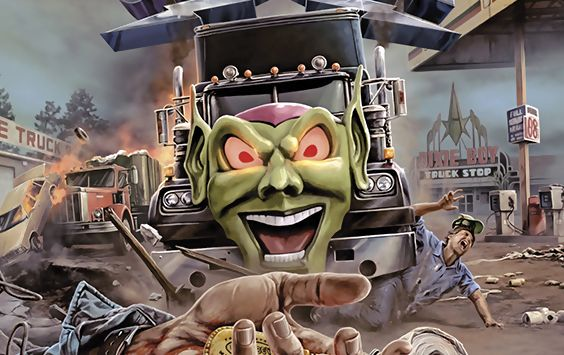 Maximum Overdrive Vestron Small
