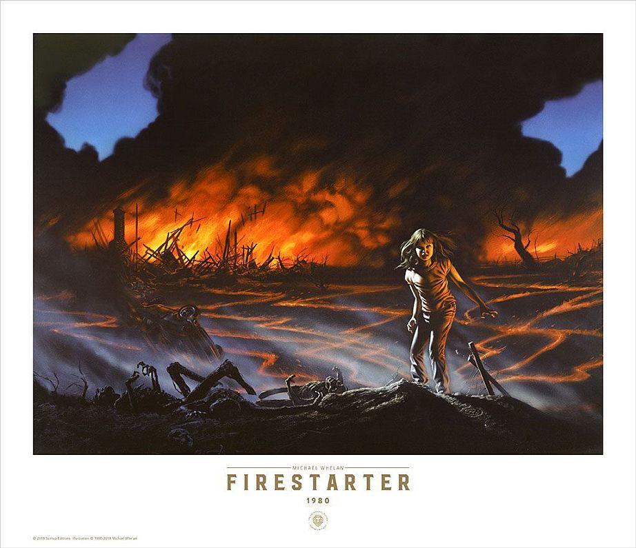 Stephenking Suntup Firestarter Charlie Print