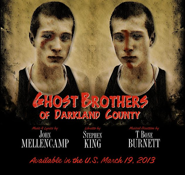 Ghost Brothers Darkland County Cd Stephenking John Mellencamp