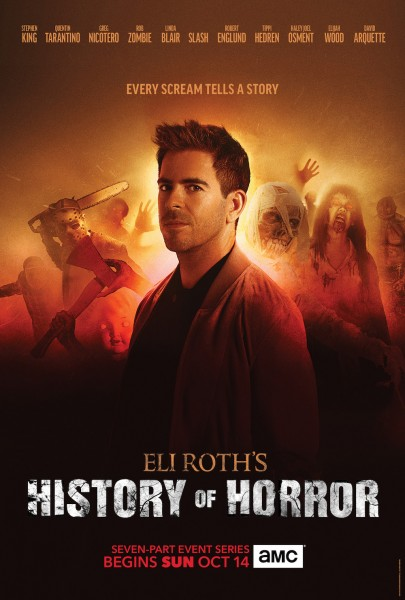 History Of Horror Eli Roth Stephen King Poster