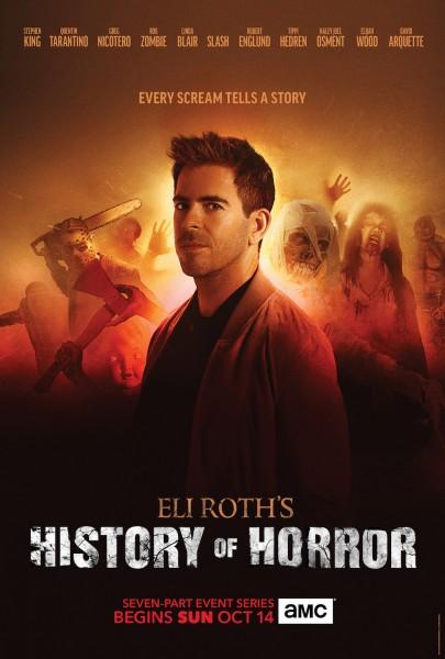 History Of Horror Eli Roth Stephen King Poster