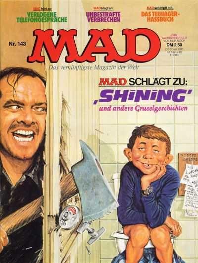 Mad Magazine Shining Allemand