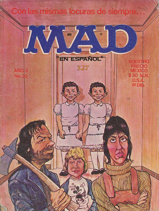 Mad Magazine Shining Espagnole