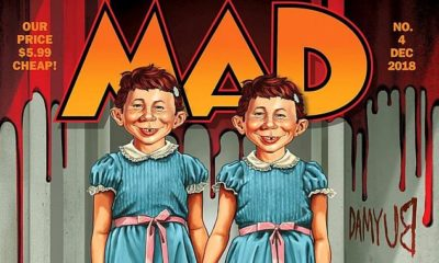 Mad Magazine Octobre2018 Cover