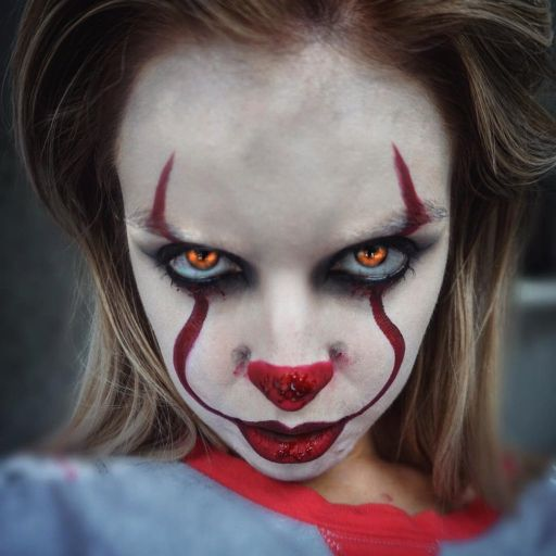 Pennywise Makeup 01