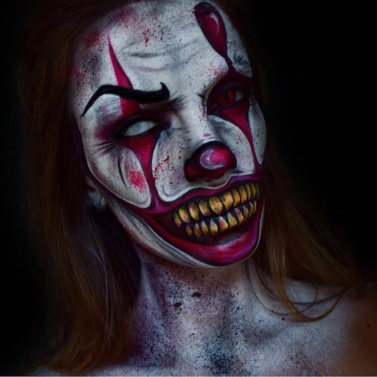 Pennywise Makeup Instagram 02