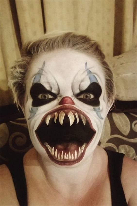 Pennywise Makeup Instagram 03