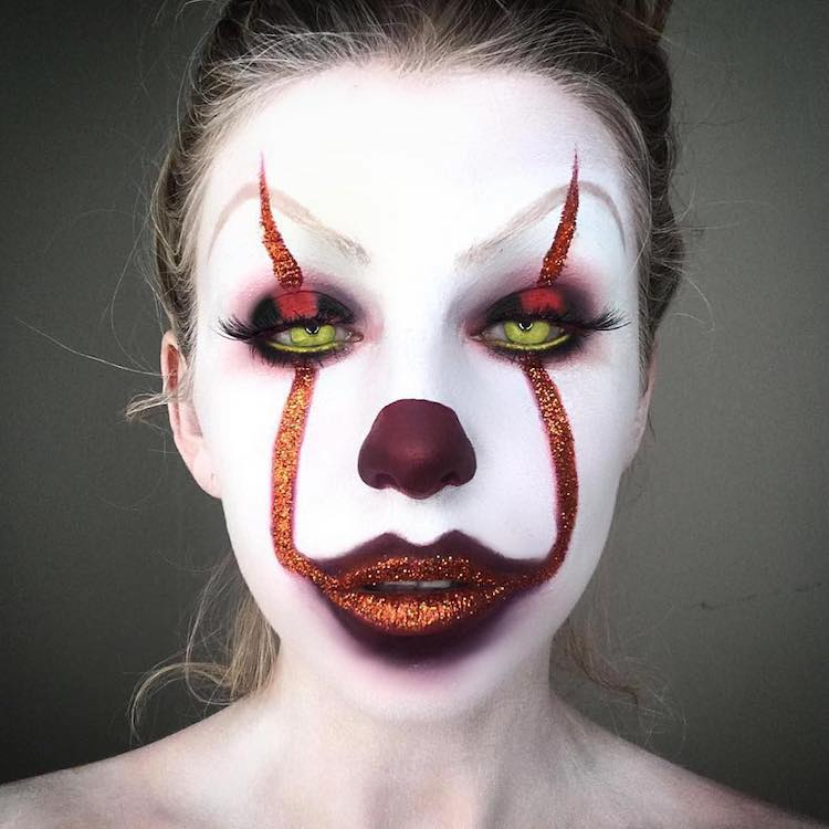 Pennywise Makeup Instagram 08