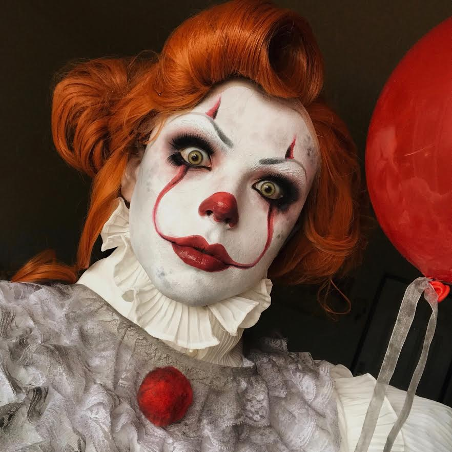 Pennywise Makeup Instagram 11 Therichardarthur