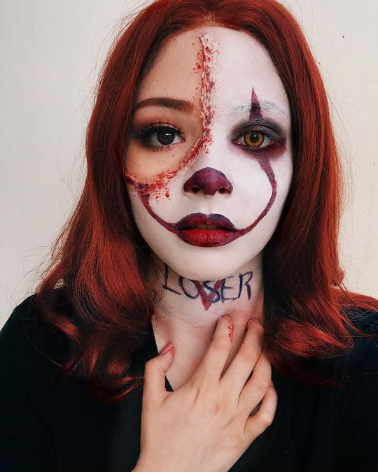 Pennywise Makeup Instagram 12 Patriciaecheverria