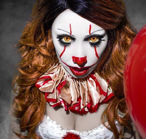 Pennywise Makeup Instagram 15 Georgia Mai Paint