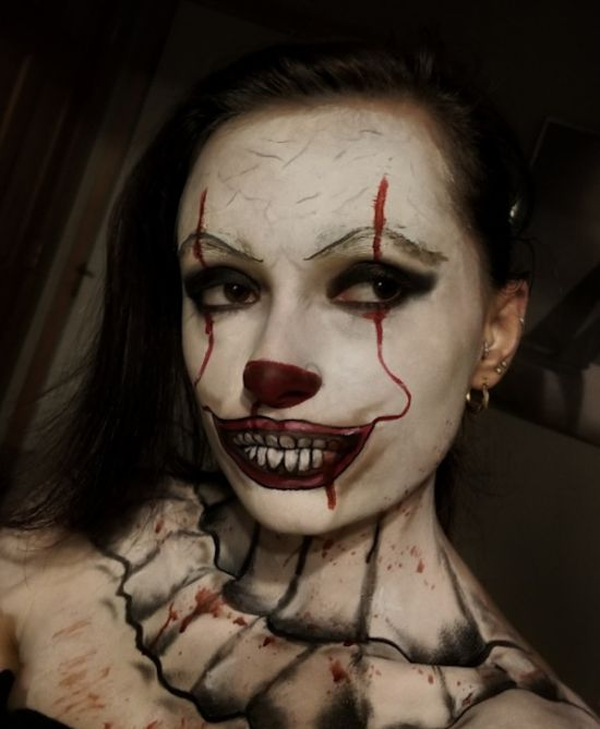 Pennywise Makeup Instagram 17