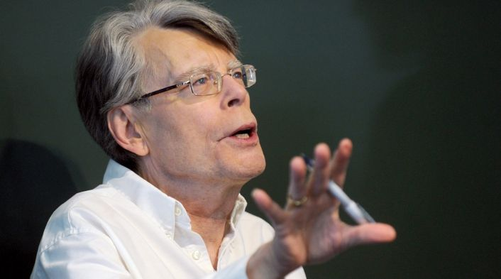 "Stephen King Signs Copies Of New Book ""revival"" New York City"