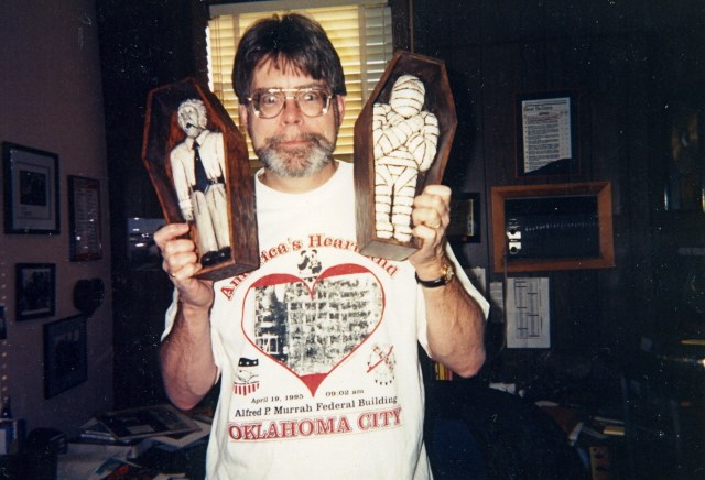 Photo Stephen King 85