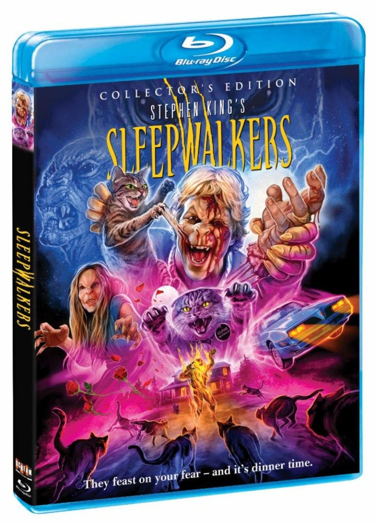 Sleepwalkers Nuit Dechiree Film Bluray Couv