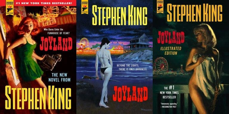 Stephen King Joyland Couvertures