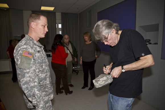 Stephen King Ramstein Air Base, Germany