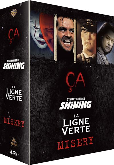 Coffret Stephen King Dvd