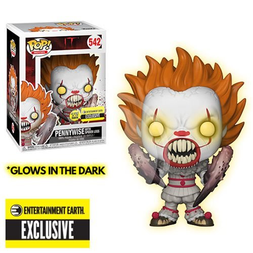 Funko Pennywise Crab Legs Glow In The Dark 1