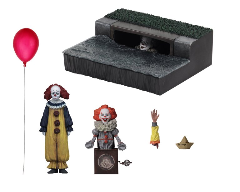 Stephenking Figurine Pennywise Neca Diorama 5