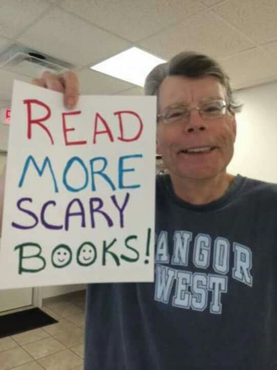 Stephenking Read More Scary Books