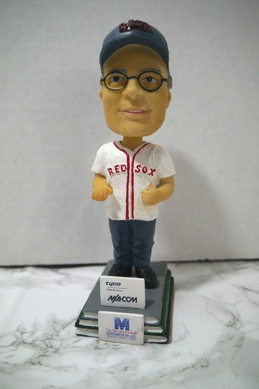 Stephen King Red Sox Lowell Spinners Bobblehead 01