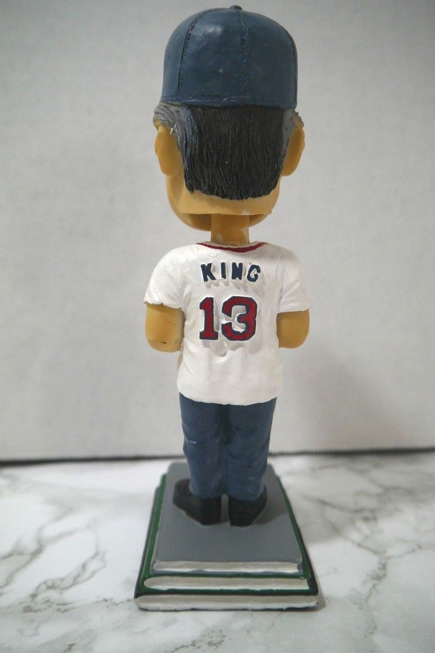 Stephen King Red Sox Lowell Spinners Bobblehead 03