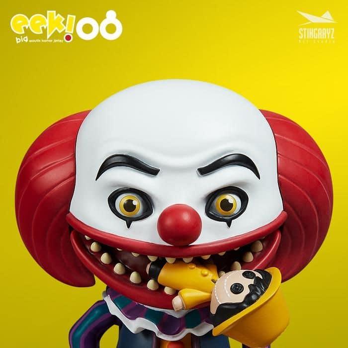 Eek! Big Mouth Pennywise Figurine Stingrayz 01 01