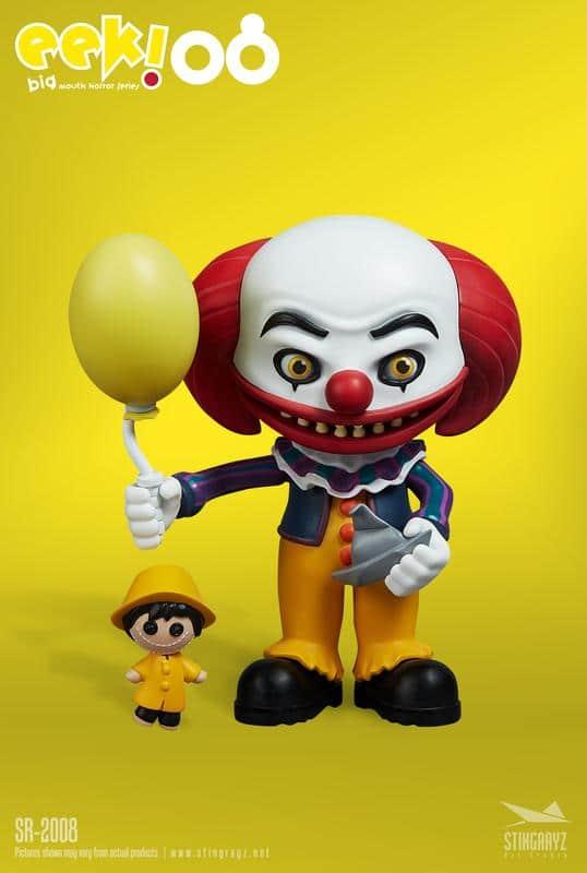 Eek! Big Mouth Pennywise Figurine Stingrayz 01 02