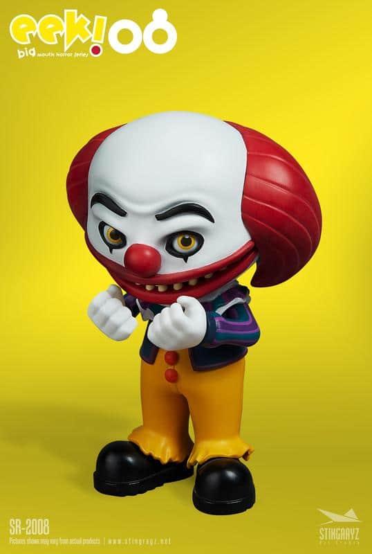 Eek! Big Mouth Pennywise Figurine Stingrayz 01 03
