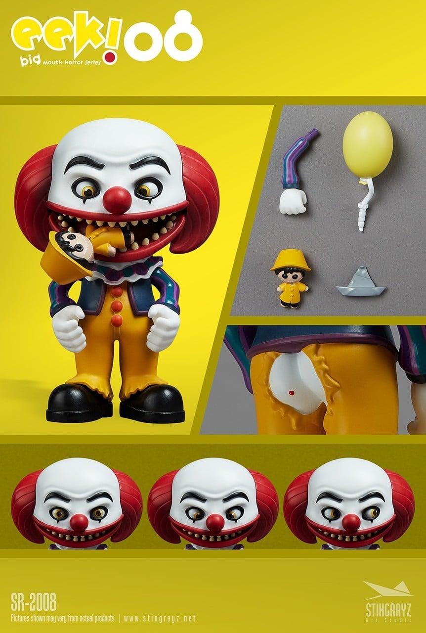 Eek! Big Mouth Pennywise Figurine Stingrayz 01