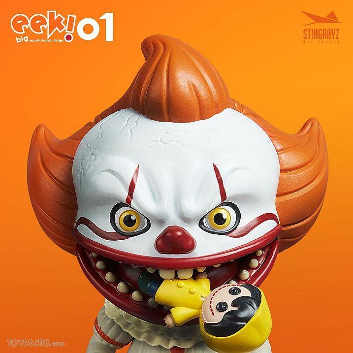 Eek! Big Mouth Pennywise Figurine Stingrayz 02 01