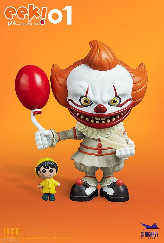 Eek! Big Mouth Pennywise Figurine Stingrayz 02 02