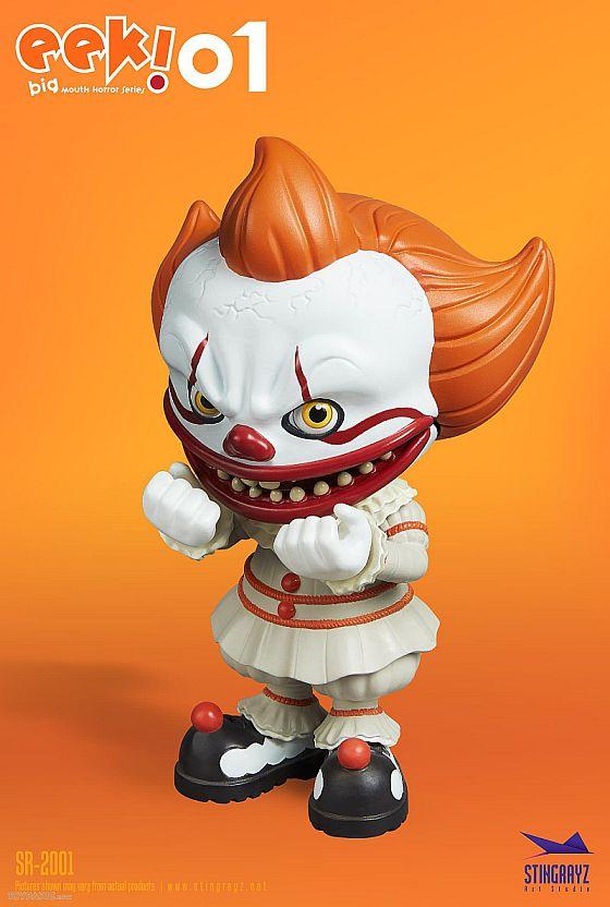 Eek! Big Mouth Pennywise Figurine Stingrayz 02 03