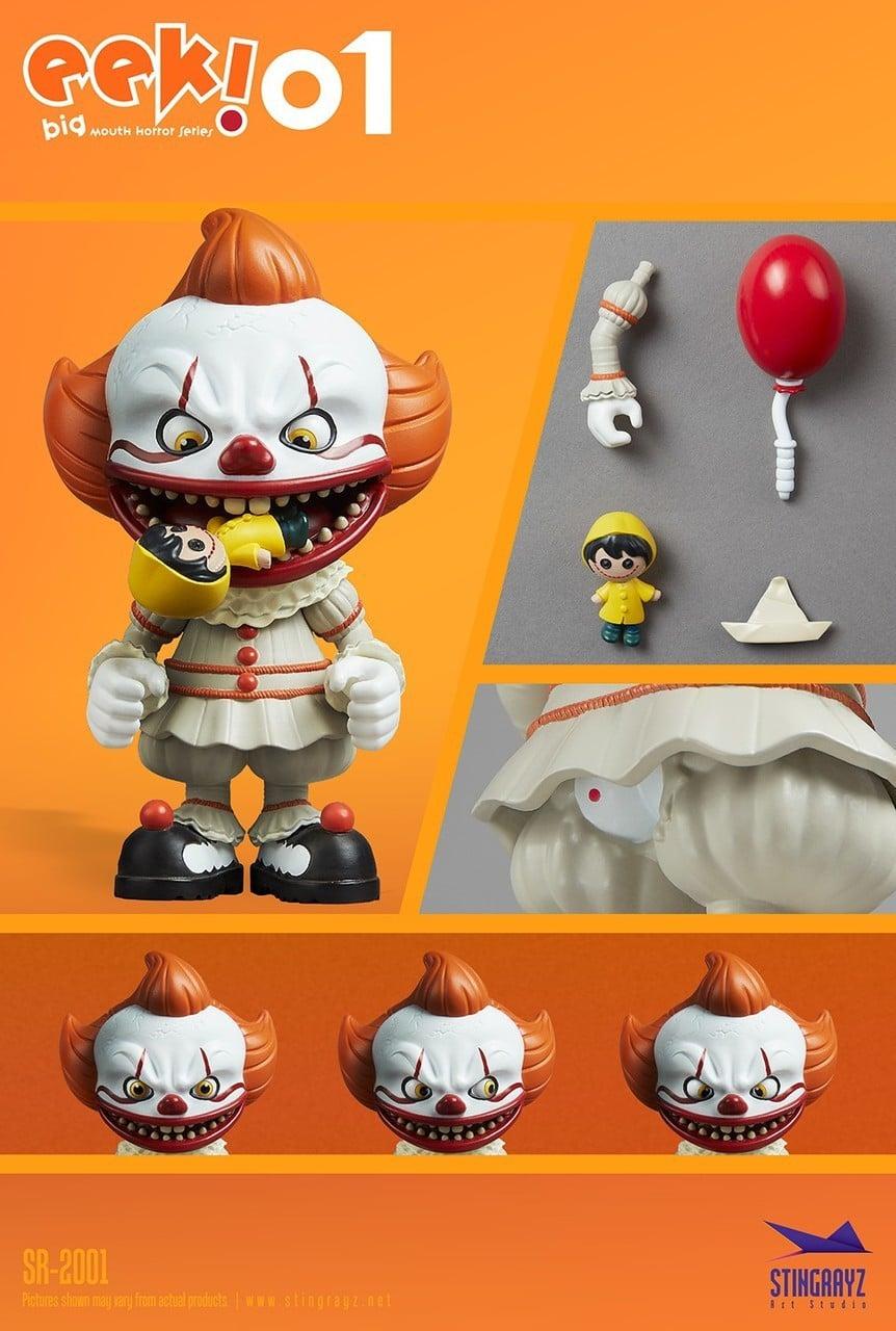Eek! Big Mouth Pennywise Figurine Stingrayz 02