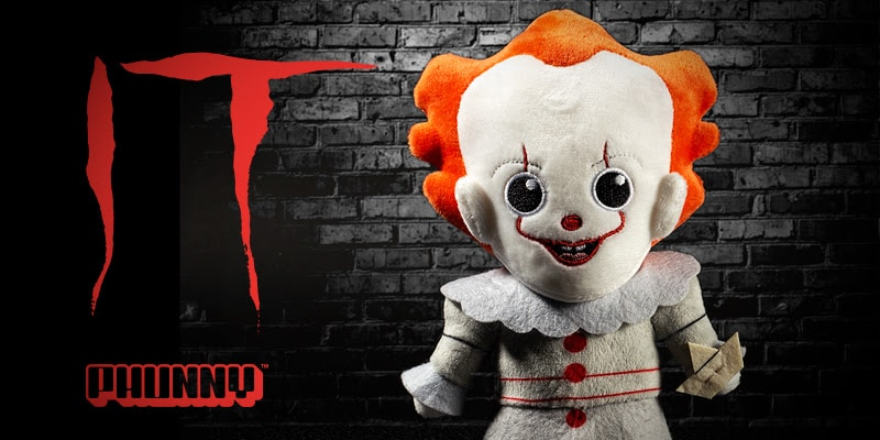 Peluche Plush It Pennywise Phunny Plush By Kidrobot 3