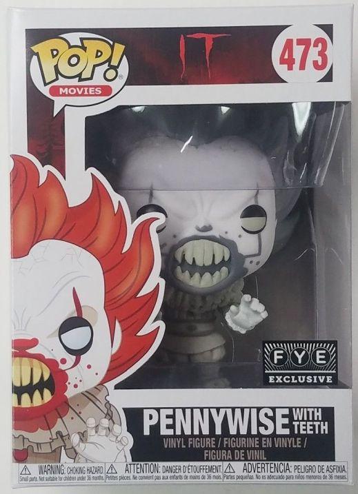 Pennywise Funko W Teeth Fye Teeshirt04