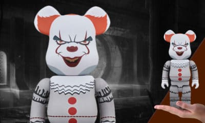 Pennywise It Bearbrick Pennywise 400 Figure Medicom Toy