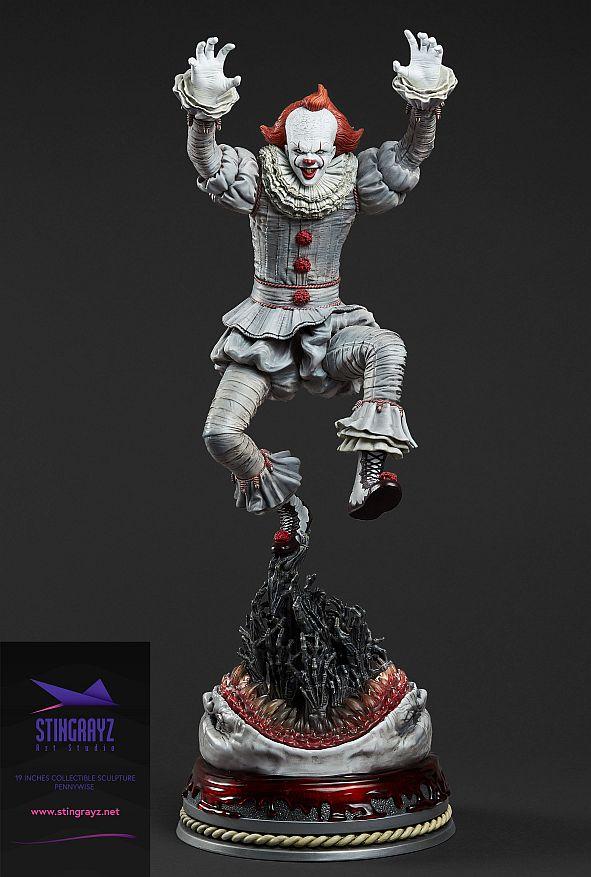 Stringrayz Statue Ca 02