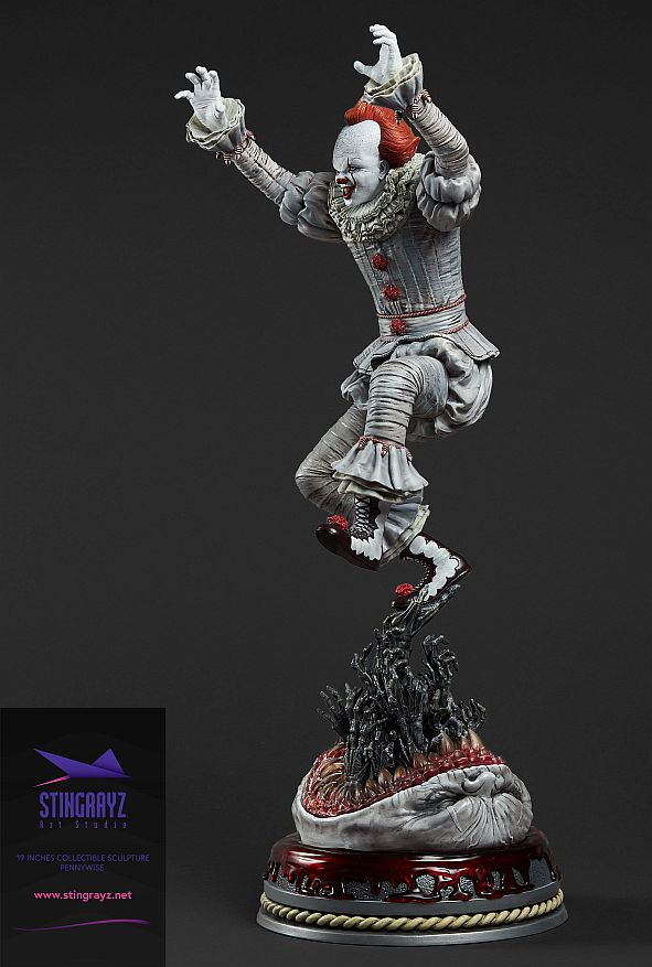 Stringrayz Statue Ca 03