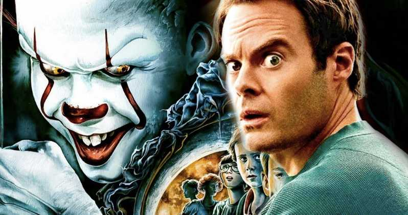 It Chapter 2 Set Photos Bill Hader Pennywise