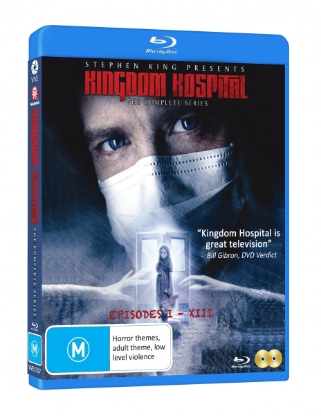 Kingdom Hospital Blu Ray 3d