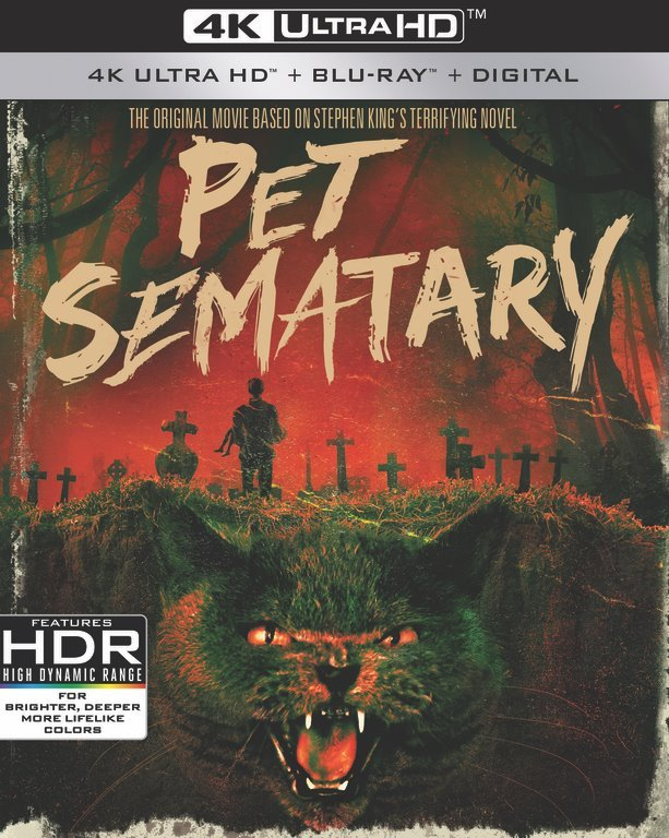 Simetiere Bluray 4k Ultra Hd Pet Sematary Jaquette